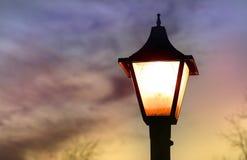Poteau de lampe photos libres de droits