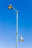 Poteau de lampe Photographie stock