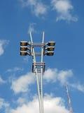 Poteau de lampe Photo libre de droits
