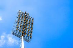 Poteau de lampe Image libre de droits