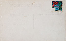 poteau de Noël de carte d'antiquité photo libre de droits