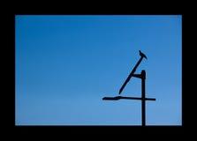 Poteau de pigeon Photo libre de droits