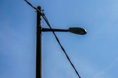 Poteau de réverbère Photo libre de droits