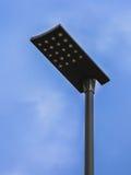 Poteau de réverbère de LED images libres de droits