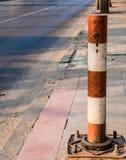 Poteau de rue photographie stock