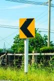 Poteau de signalisation Photos libres de droits