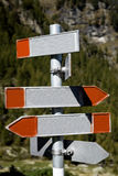 Poteau de signe Images stock