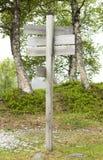 Poteau de signe Image stock