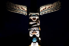 Poteau de totem Photo stock