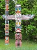 Poteau de totem Photo libre de droits