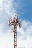 Poteau de transmission de signal Image libre de droits