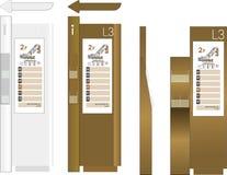 Poteau indicateur d'arcade Images stock