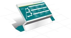 Poteau indicateur d'arcade Image libre de droits
