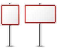 Poteau indicateur de vecteur illustration de vecteur