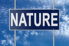 Poteau indicateur sur la plaque signalétique bleue sur le fond de ciel illustration stock