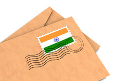 Poteau indien illustration stock