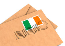 Poteau irlandais Photos libres de droits