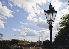 Poteau léger photo libre de droits