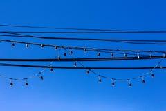 Poteau électrique Image stock