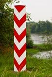 Poteau polonais de borne images stock