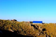 Poteau rural Image libre de droits