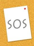 poteau SOS Photographie stock libre de droits