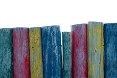 Poteaux colorés images stock