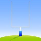 Poteaux de football américain Photographie stock libre de droits
