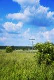 Poteaux de l'électricité Photographie stock libre de droits
