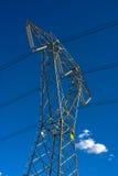 Poteaux de puissance Images stock
