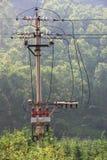 Poteaux de puissance Photographie stock libre de droits