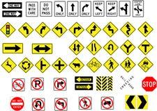 Poteaux de signalisation Image stock