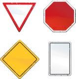 Poteaux de signalisation Photos stock