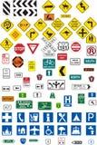 Poteaux de signalisation Images libres de droits