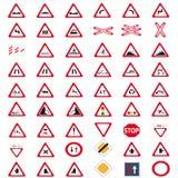 Poteaux de signalisation de ramassage Photo libre de droits