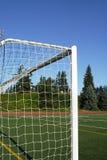 Poteaux du football photo libre de droits