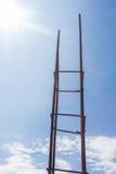 Poteaux en acier image stock