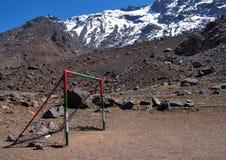 Poteaux supérieurs de montagne Photo libre de droits