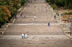 Potemkin stairs Stock Images