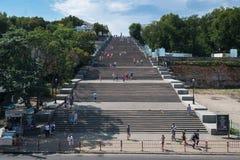 Potemkin stairs, Odessa Stock Photos