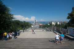 Potemkin stairs, Odessa Royalty Free Stock Images