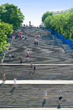 Potemkin Stairs in Odessa city Royalty Free Stock Photos