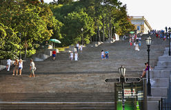 Potemkin Stairs in Odessa. Ukraine Stock Images