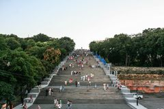 Potemkin Stairs, Odessa, Ukraine Stock Photo
