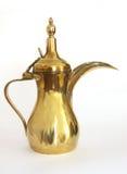 Potenciômetro árabe do café imagens de stock
