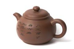 Potenciômetro chinês do chá Imagem de Stock