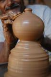 Potenciômetro de argila Imagens de Stock Royalty Free