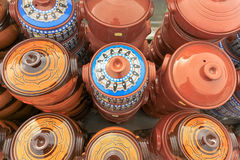 Potenciômetro de argila fotografia de stock royalty free