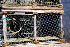 Potenciômetro de lagosta em Les îles de la Madeleine Imagem de Stock Royalty Free