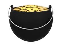 Potenciômetro de ouro Imagem de Stock